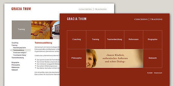 Gracia Thum - Coaching & Training